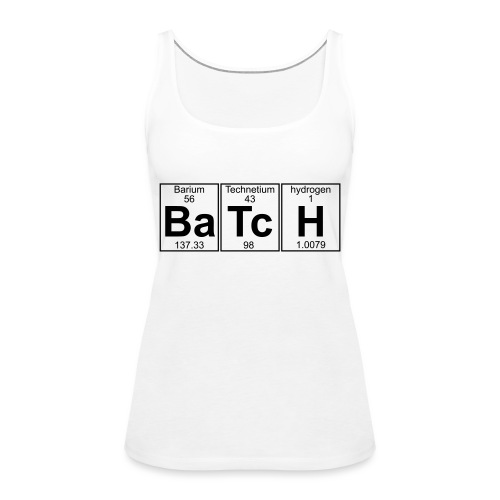 Ba-Tc-H (batch) - Full - Women's Premium Tank Top