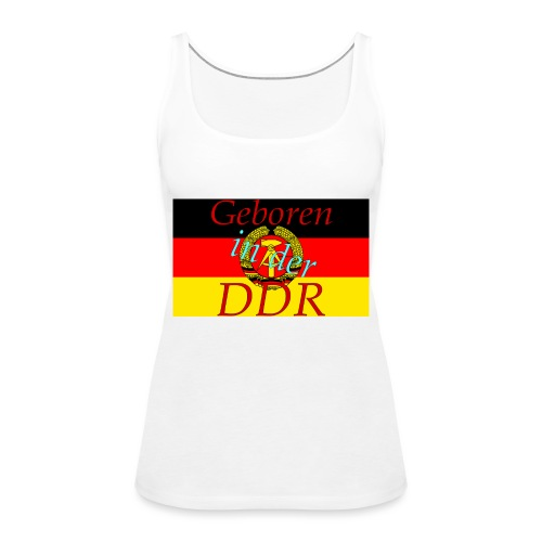 DDR - Frauen Premium Tank Top