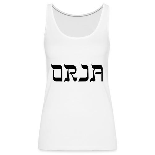 ORJA - Naisten premium hihaton toppi