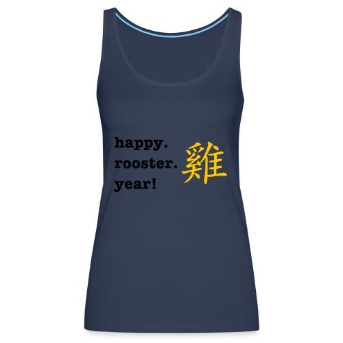 happy rooster year - Women's Premium Tank Top