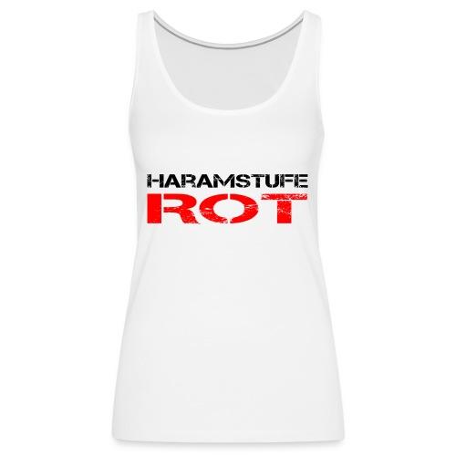 HARAMSTUFE ROT - Frauen Premium Tank Top
