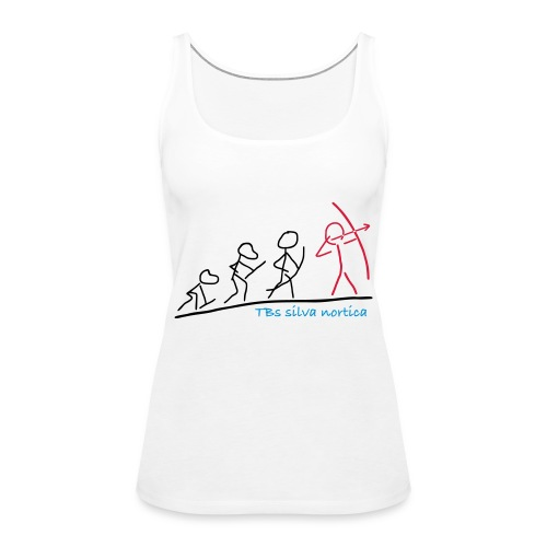 Evolution TBs silva nortica - Frauen Premium Tank Top