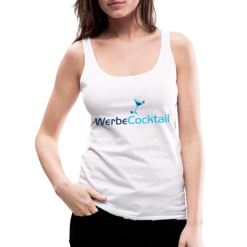 WerbeCocktail - Logo Version 2 - Frauen Premium Tank Top