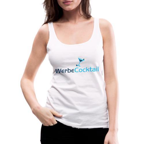 WerbeCocktail - Logo Version 2 - Frauen Premium Tank Top