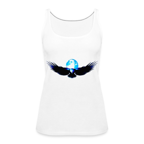 eagle earth - Vrouwen Premium tank top