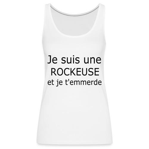Rockeuse - Débardeur Premium Femme