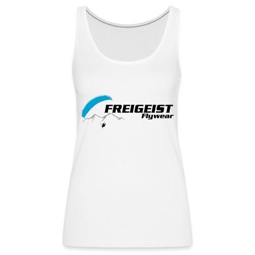 Freigeist-Flywear logo - Frauen Premium Tank Top