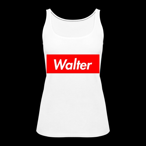 Walter box logo - Women's Premium Tank Top