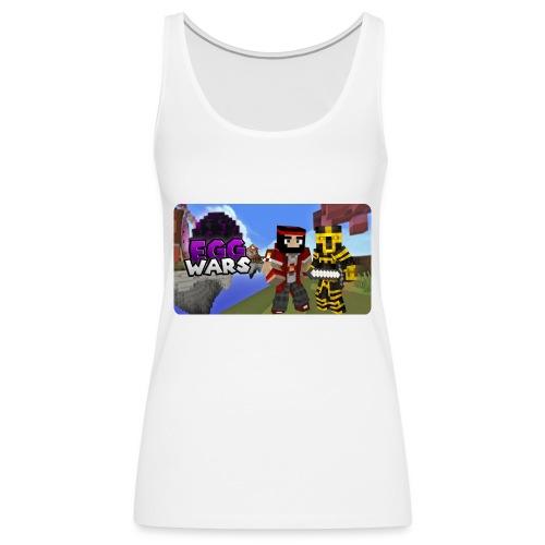 EggWars Manu y Massi - Camiseta de tirantes premium mujer
