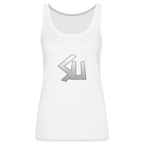 Plain SU logo - Women's Premium Tank Top
