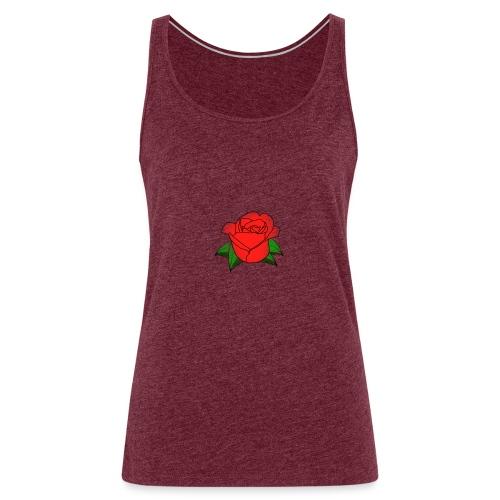 Rosa - Canotta premium da donna