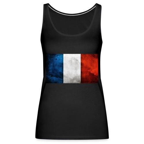 France Flag - Women's Premium Tank Top