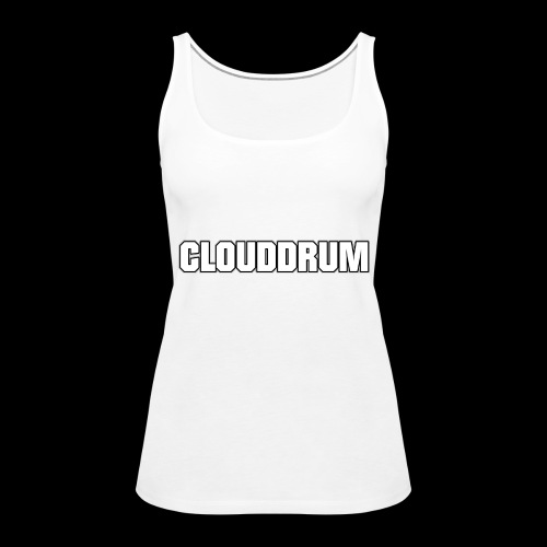 CLOUDDRUM - Vrouwen Premium tank top