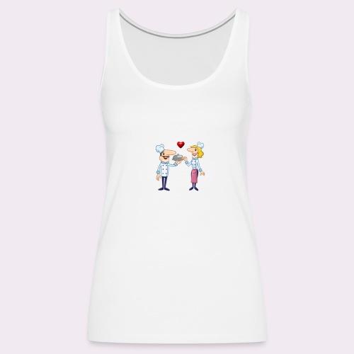 cheffs - Camiseta de tirantes premium mujer
