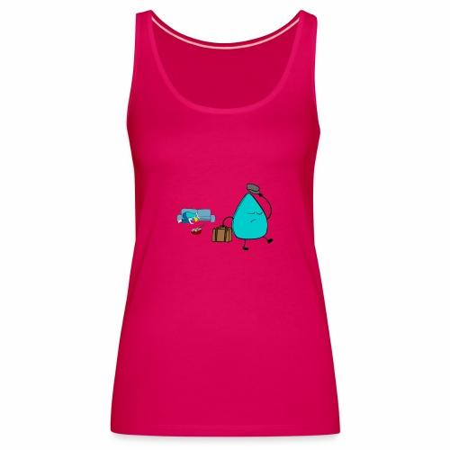 plectrumblauw - Vrouwen Premium tank top