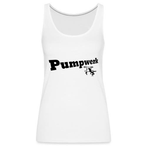 Pumpwerk bench black - Frauen Premium Tank Top