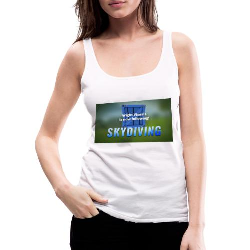 skydiving - Frauen Premium Tank Top