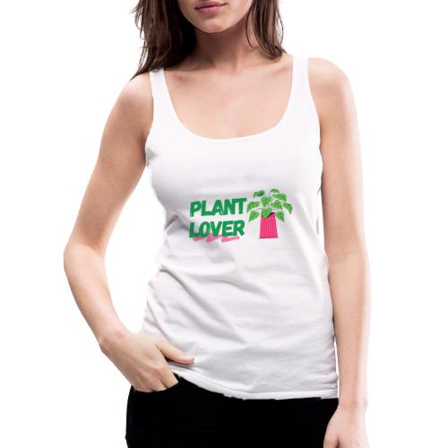 Plant Lover - Women's Premium Tank Top