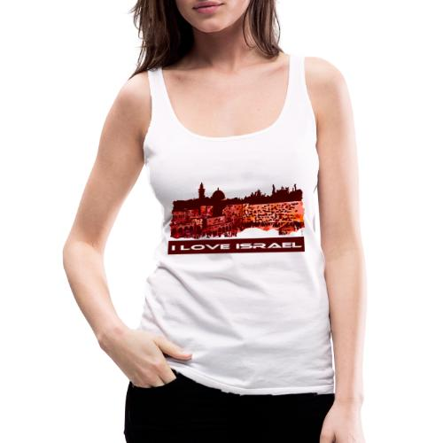 Jerusalem - I love Israel, Sunset-Motiv - Frauen Premium Tank Top