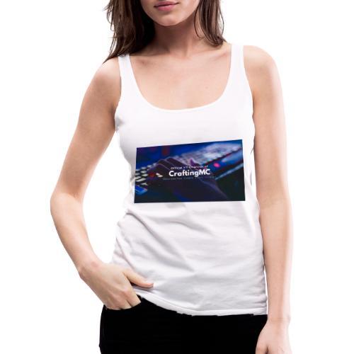 CraftingMC Banner - Frauen Premium Tank Top