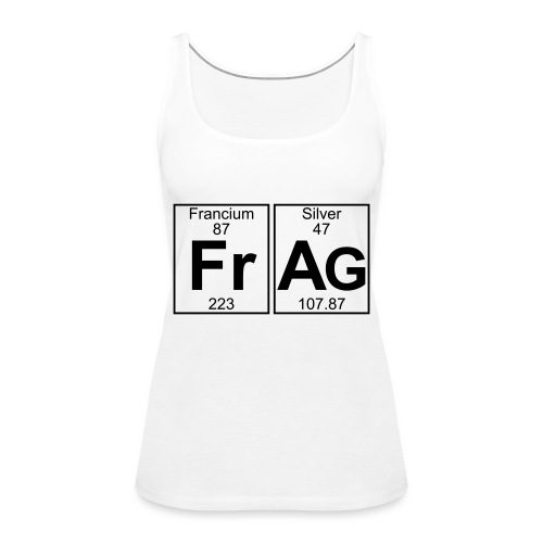 Fr-Ag (frag) - Full - Women's Premium Tank Top