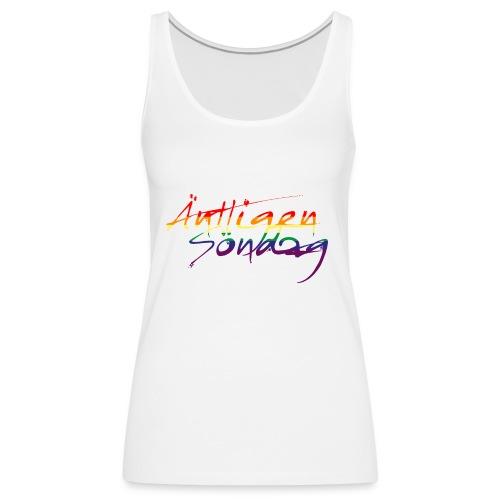 Antligen Sondag Pride - Premiumtanktopp dam
