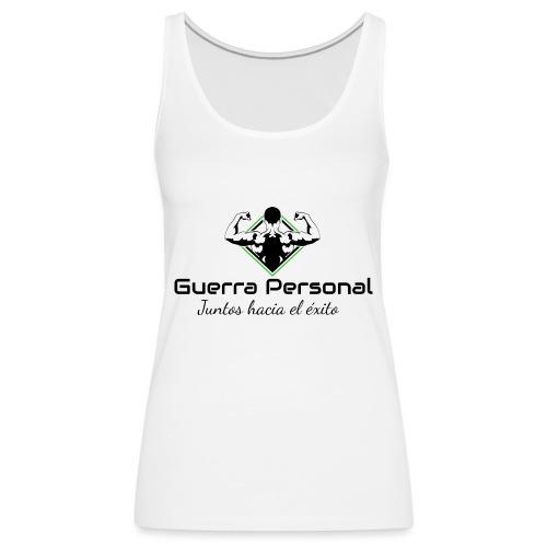 Guerra Personal - Camiseta de tirantes premium mujer