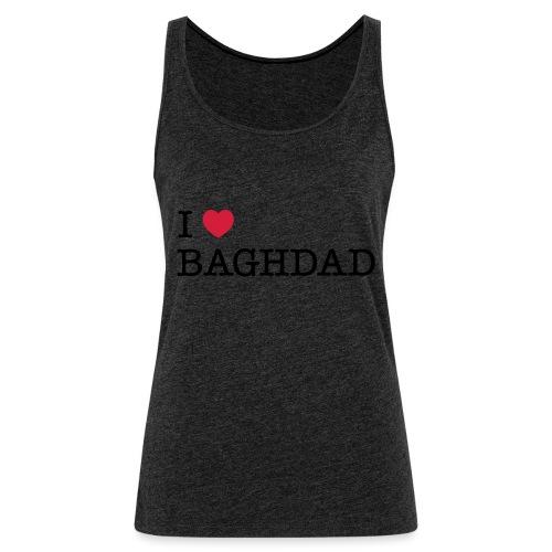I LOVE BAGHDAD - Women's Premium Tank Top