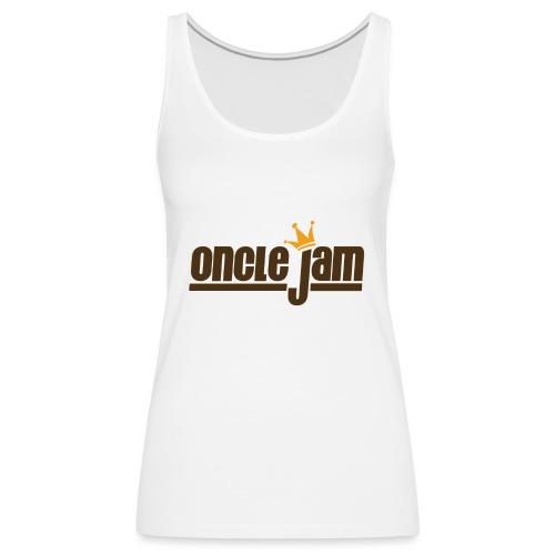 Oncle Jam horizontal brun - Débardeur Premium Femme