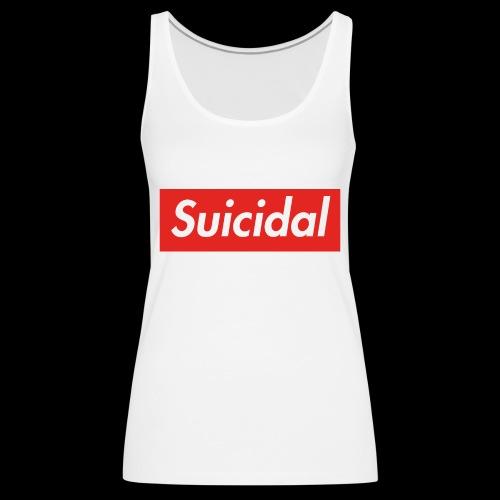 Suicidal Logo.png - Camiseta de tirantes premium mujer