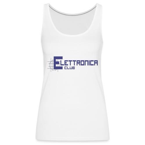 Felpa Elettronica Club - Canotta premium da donna