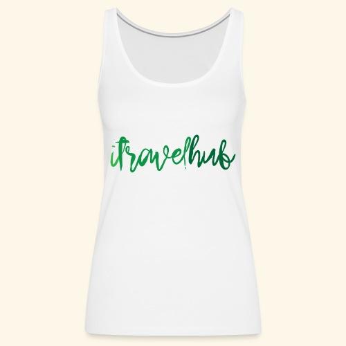 itravelhub logo - Women's Premium Tank Top