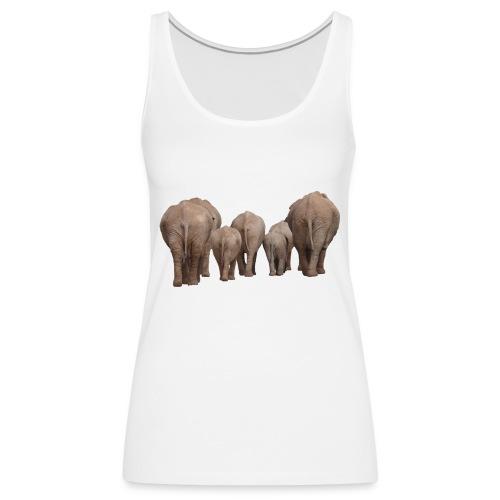 elephant 1049840 - Canotta premium da donna