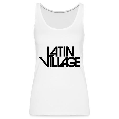 Logo Latin Village 30 - Vrouwen Premium tank top
