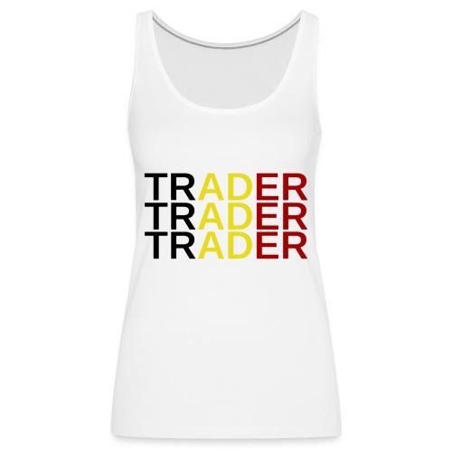 Trader Belgique - Débardeur Premium Femme