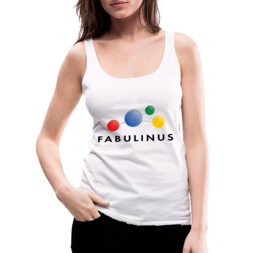 Fabulinus logo dubbelzijdig - Vrouwen Premium tank top