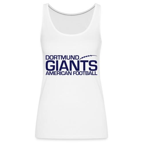 giants log bl weps - Frauen Premium Tank Top