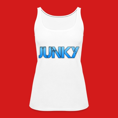 Junky Skate Blue - Women's Premium Tank Top
