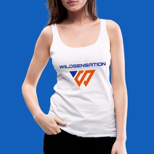 Logo Wildsensation - Frauen Premium Tank Top