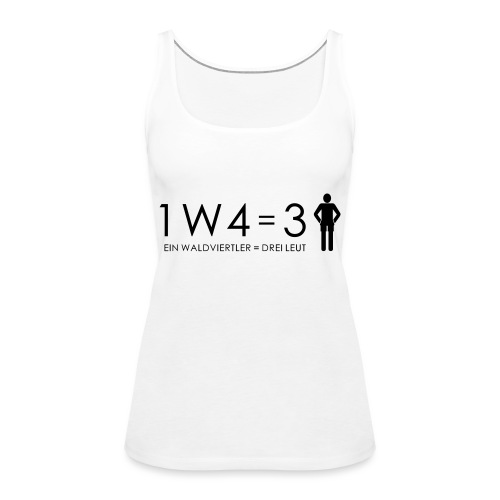 1W4 3L - Frauen Premium Tank Top