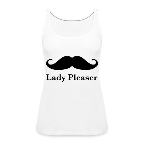 Lady Pleaser T-Shirt in Green - Women's Premium Tank Top