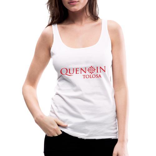 QUENTIN TOLOSA rouge - Débardeur Premium Femme