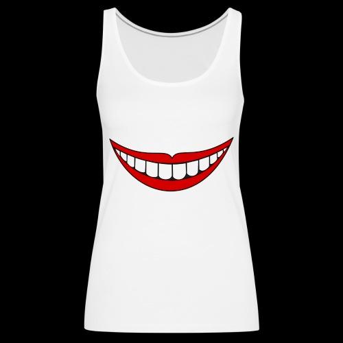 Big Smile Schutzmaske - Frauen Premium Tank Top