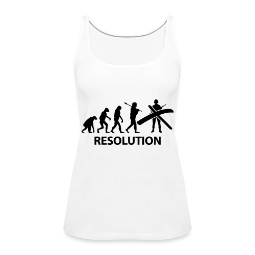 Resolution Evolution Army - Women's Premium Tank Top