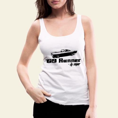 roadrunner 69 - Dame Premium tanktop