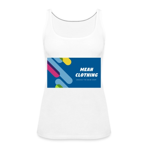 MEAH CLOTHING LOGO - Women's Premium Tank Top