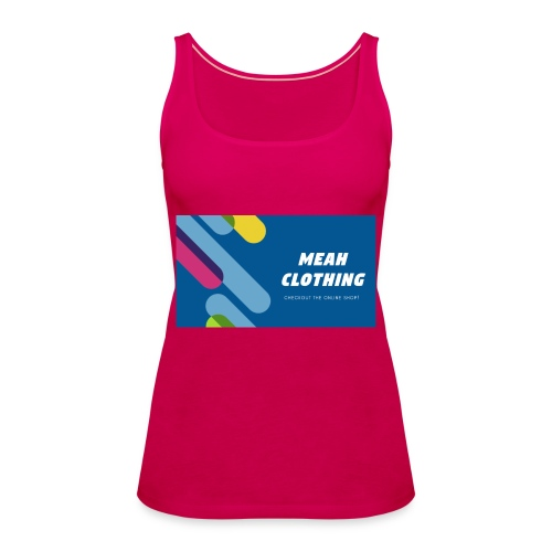 MEAH CLOTHING LOGO - Women's Premium Tank Top