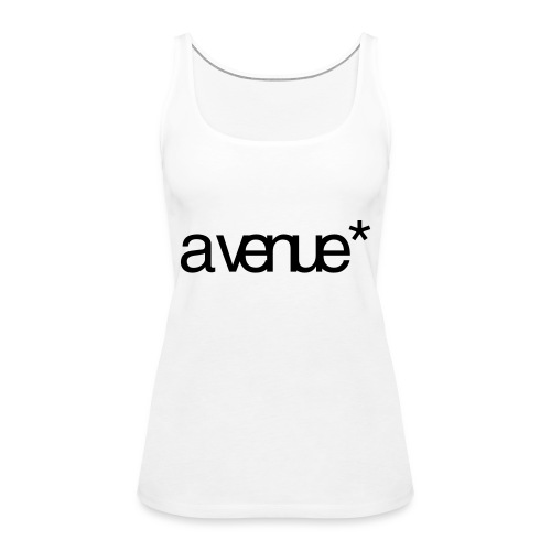 Logo AVenue1 80 - Vrouwen Premium tank top
