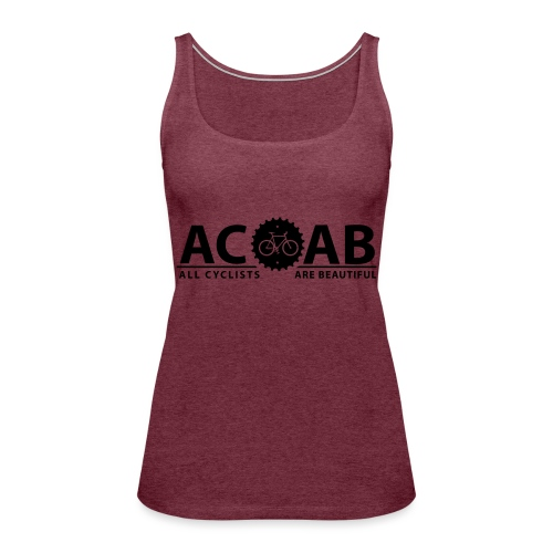 ACAB All Cyclists Are Beautiful T-Shirts - Frauen Premium Tank Top