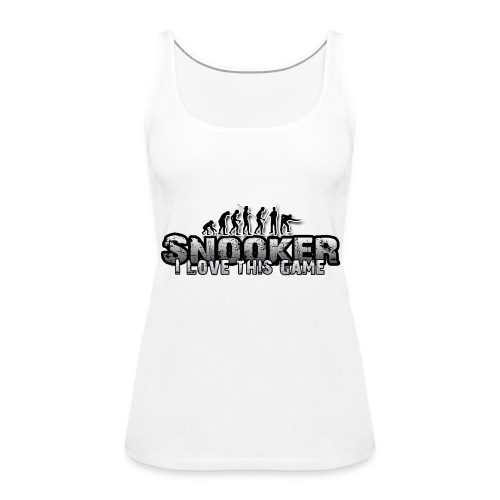 snooker i love this game - Frauen Premium Tank Top